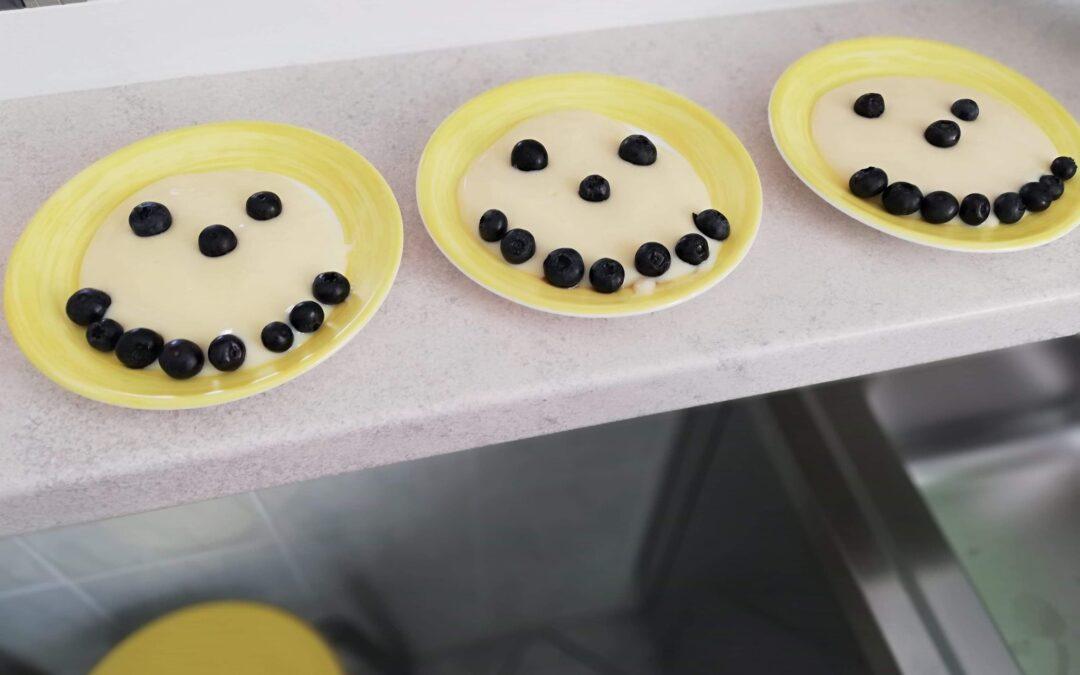 Uśmiechnięty podwieczorek